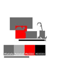 LOGO REALISMO TERMINALE caratteri e colori